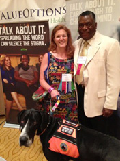 Tela at NAMI Conference in San Antonio June 2013.